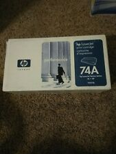 Genuine HP LASER JET 74A. 92274A Black TONER CARTRIDGE . SEALED