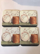 4 Longaberger Basket With Plate Pip Berries Coasters Country Primitive Brand New