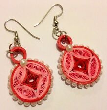 Hand made Quilling Earrings