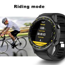 F1 GPS Bluetooth Smart Watch Wifi HD Sports Heart Rate Monitor SIM For Samsung