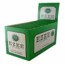 Ezee Green Rolling Papers Cigarette Standard Size Cut Corner 100 Booklets £7.90