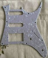 For 4 Ply Ibanez RG 40 HSS Style Guitar Pickguard Scratch Plate,White Pearl