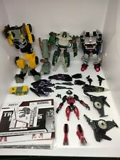 Transformers Mixed Parts Lot Custom Repair Chug Classics Prime