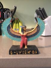 Egyptian Winged Decorative Figurine Statue Ancient Goddess