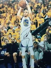 Autographed Stephen Curry 11x14 Golden State Warriors 2015