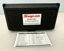 Snap On Sdml19kt 19 Pc Long Bit Set Torx With Storage Case New