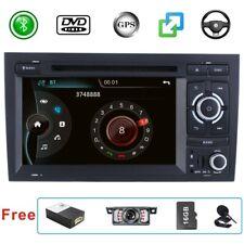 For Audi A4 S4 RS4  2 DIN HeadUnit Car CD DVD Stereo Radio GPS Sat Nav Bluetooth