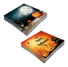 Halloween Motiv Servietten 20 Kürbisse im Mondlicht 20 Happy Halloween Tischdeko