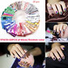 20 Holographic Nail Foils Starry Sky Glitter Foils Nail Art Transfer Sticker Set