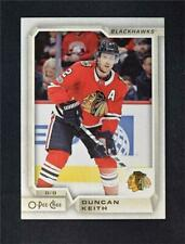 2018-19 18-19 Upper Deck UD O-Pee-Chee OPC Base #407 Duncan Keith