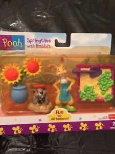 Winnie The Pooh Springtime With Rabbit Fisher-Price