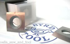 "Byrd Shelix Insert KN400 carbide 4-edge radius 100mm-4"" 15mm x 15mm x 2.5mm 2 pc"