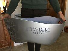 Belvedere Vodka XXL Chrome LED Acryl Kühler Deko Party Ice Bucket