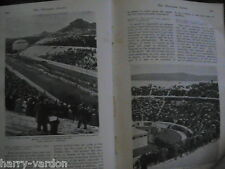 Olympic Games Eclipse Racehorse S African Cricket Old Antique Photo Article 1906