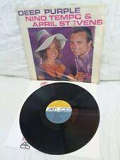 NINO TEMPO & APRIL STEVENS~Deep Purple~orig.1st press ATCO 33-156