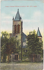 Bay City,Michigan,First Presbyterian Church,Bay County,Used,1908