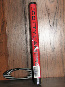 Scotty Cameron Medium Red Matador Grip, Brand New In Plastic!  Hard To Find!