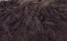 LONG Pile Fun Faux Fur Fabric Material - BRUNO