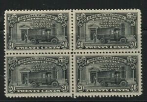US Scott #E14 MNH F/VF Block of 4 (1)