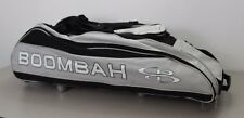 Boombah Beast Baseball Softball Bat Bag Rolling Gray Black Small Stain