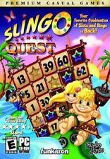 Slingo Quest PC Games Windows 10 8 7 XP Computer slots and bingo puzzle NEW