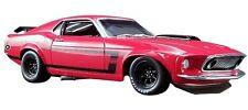 Ford Mustang Boss 302 Trans AM 1969 Red 1/18 - A1801820B ACME