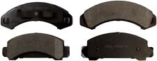 Disc Brake Pad Set-ProSolution Semi-Metallic Brake Pads Front Monroe FX387