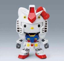 Bandai Standard Hello Kitty and RX-78-2 Gundam SDEX Standard Model Kit
