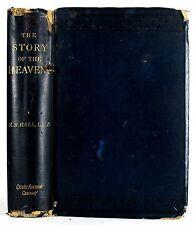 1891 THE STORY OF THE HEAVENS ROBERT S BALL ASTRONOMY SUN MOON SOLAR SYSTEM ILLU