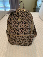 Freshly Picked Classic City Pack Leopard Diaper Backpack New