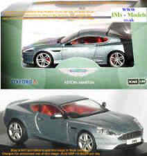 Aston Martin Db9 Coupe in Silver Amdb9001 Oxford Diecast 1 43