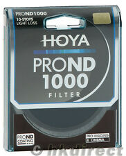 Hoya PRO ND 49mm ND1000 (3.0) 10 Stop ND Neutral Density Filter XPD-49ND1000