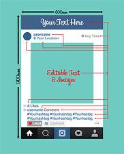 Instagram Photoframe Photo Booth 60cm x 90cm selfie
