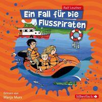 WANJA MUES -RALF LEUTHER: EIN FALL FÜR DIE FLUSSPIRATEN HÖRBUCH 2 CD NEU