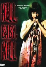 KILL, BABY, KILL  dvd ERIKA BLANC GIOCOMO ROSSI STUART