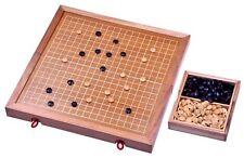Go Gobang Spiel der Götter Strategiespiel Brett und Steine aus Holz - 2. Wahl