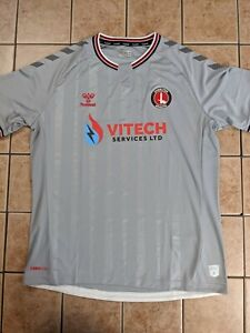 Charlton Athletic 20/21 Away Authentic Blank Jersey Men's Hummel NWT