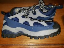 Montrail Womens Goretex Gore-Tex Blue and Grey Hiking Shoes Size 5.5  $90 retail