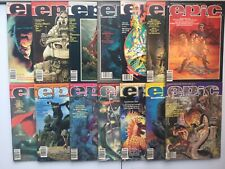 Marvel 1980 Epic Illustrated Lot 2-27 Not Complete Galactus Byrne Wrightson