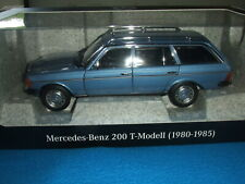 Mercedes Benz W/S 123 - 200 T Modell/Kombi Blau 1:18 Neu OVP Limitiert 1000 Stck