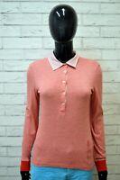 Polo a Righe Donna NORTH SAILS S Maglietta Maglia Manica Lunga Shirt Woman