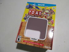 REPLACEMENT BOX ONLY for Captain Toad Treasure Tracker & amiibo Nintendo Wii U
