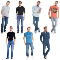 Big Star Mens Denim Jeans - Straight Tapered Leg Style Designer Casual Trousers
