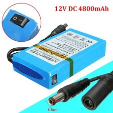 DC-2480 DC 12V 4800mAh Rechargeable Portable Li-ion Battery For CCTV Camera
