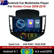 "9"" Android 9.1 Quad Core Car Non DVD GPS For Holden Cruze 2009-2016"
