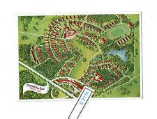 (E2174) DR interessante Karte Olympische Dorf 1936 mit Sonderstempel     SELTEN