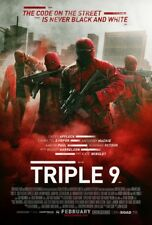TRIPLE 9 MOVIE POSTER 2 Sided ORIGINAL 27x40 CASEY AFFLECK ANTHONY MACKIE