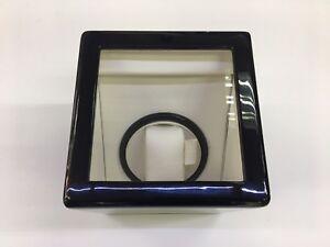 Black Lacquer Automatic Rotation Wood Watch Winder Box Storage Case Organizer