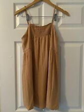 Forever 21 Contemporary Strap Peach Women Mini Dress Sz M Medium