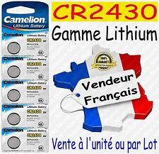 Piles boutons au choix : CR2430 ou CR2032 CR2025 CR2016 CR1620 CR2450 Lithium 3V